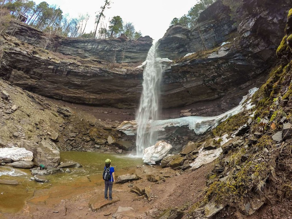 Kaaterskill Falls in Hudson Valley