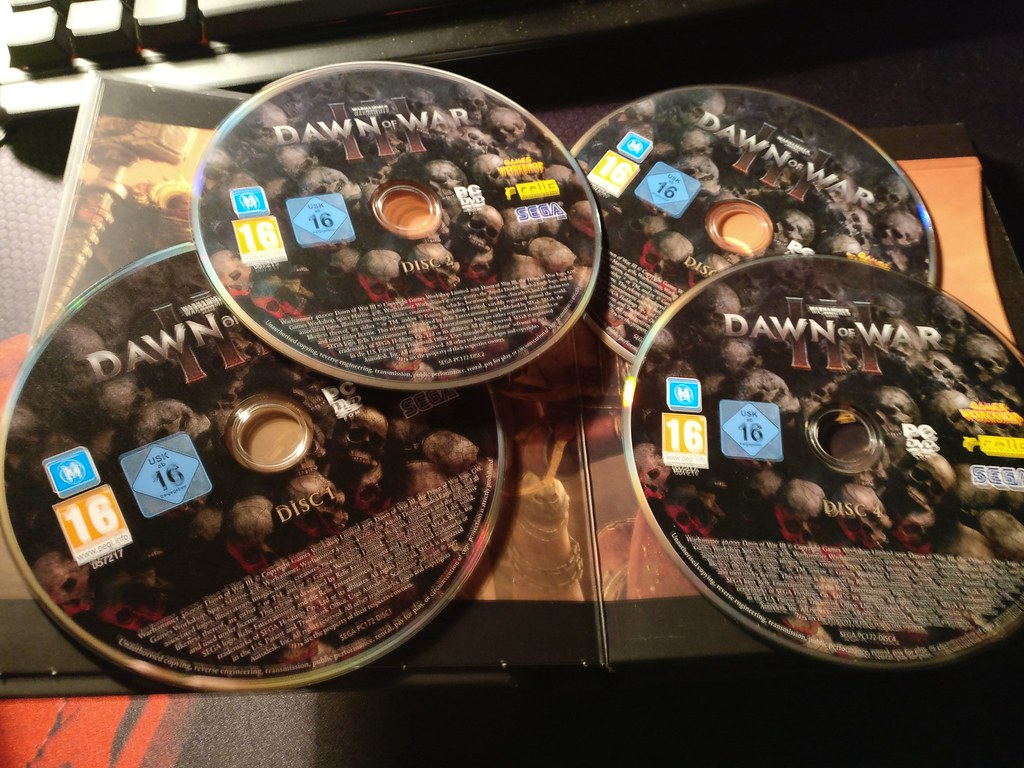 DoW3 DVDs