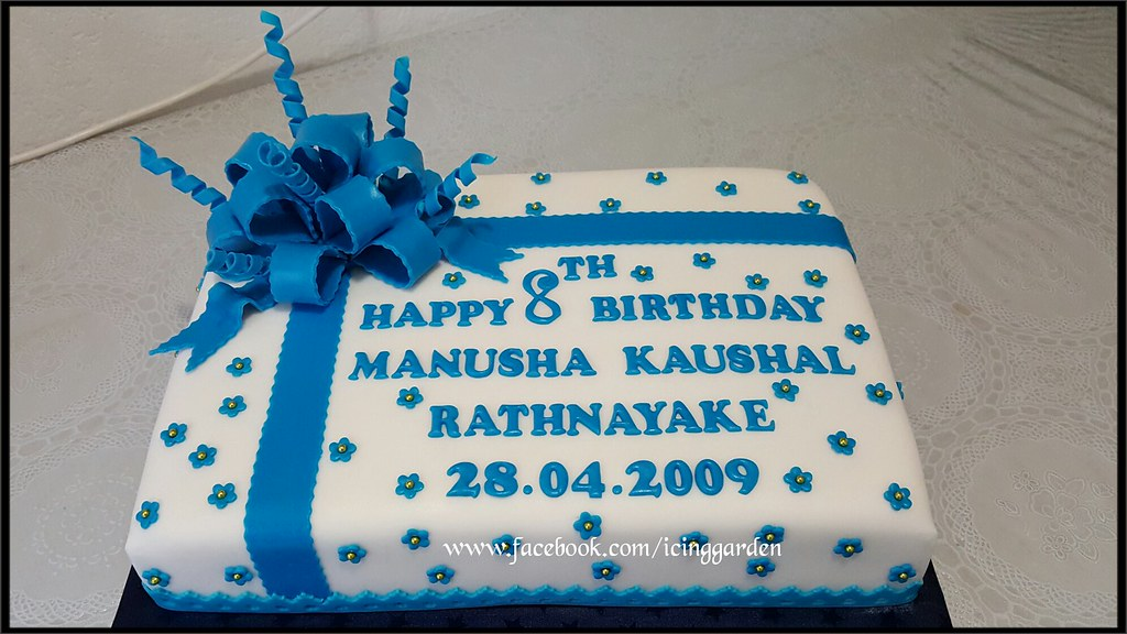 Birthday Cake 8 Th Birthday Cake Gift Design Cake Fo Flickr