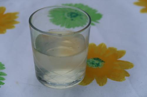 Selbstgemachte Zitronen-Minze-Limonade