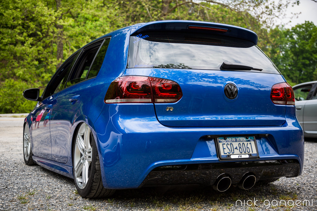 Rising Blue VW Golf R (2) - SoWo 2013 | Southern Worthersee … | Flickr