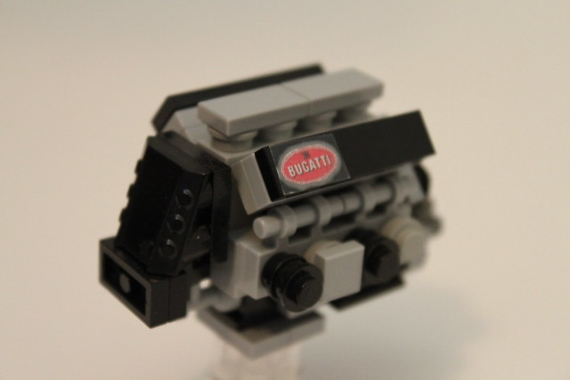 lego bugatti veyron 16 4 engine flickr photo sharing. Black Bedroom Furniture Sets. Home Design Ideas