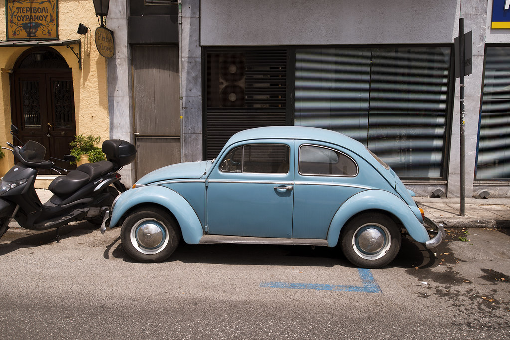 athenian volkswagen athens greece curtis perry flickr
