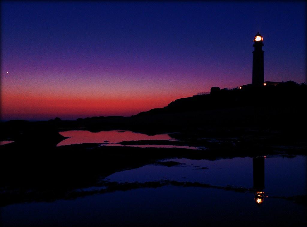 Luz que ilumina en la noche la del faro de trafalgar for Planimetrie del faro