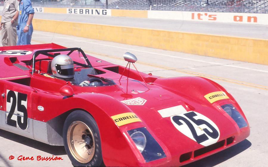 Andretti Ickx Ferrari 312pb At Sebring 1971 Mario