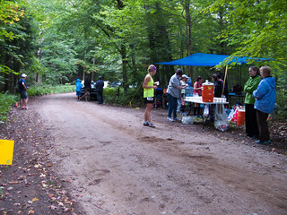 One of the aid stations along the course | by andyscamera