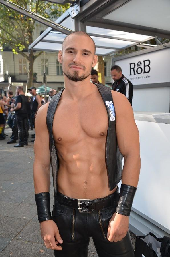 Leather xxx gay boy