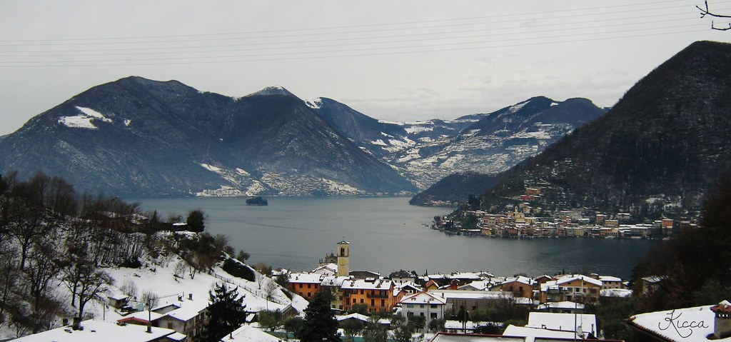 Lago d'Iseo  Brescia Italy
