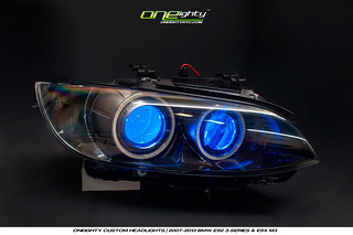 BMW E9x M3 Custom Headlights | by ONEightyNYC
