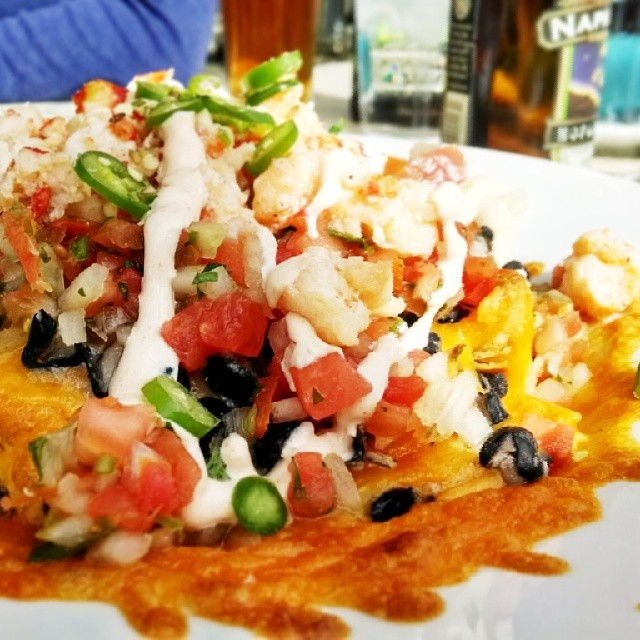 #Lobster #nachos from the Cove Bar at #Disney #California … | Flickr