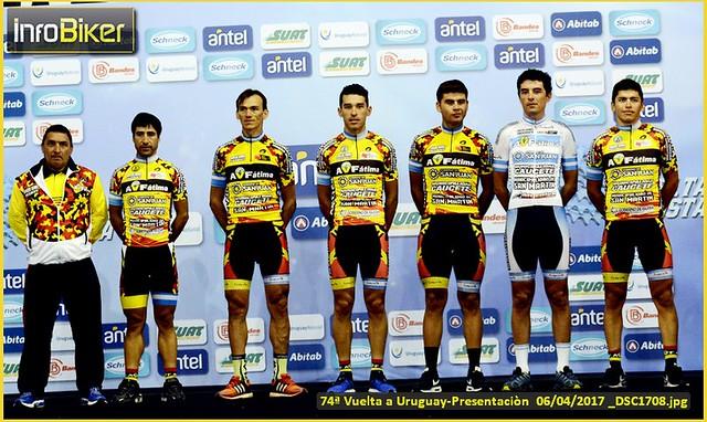 74° Vuelta a Uruguay-Presentación