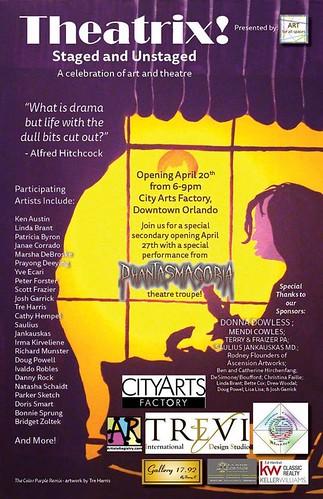 """""""Theatrix! A Celebration of Art & Theatre"""""""