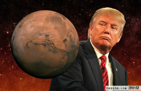 donald-trump-move-to-mars-spacex-nasa-getty-shutterstock-business-insider-illustration