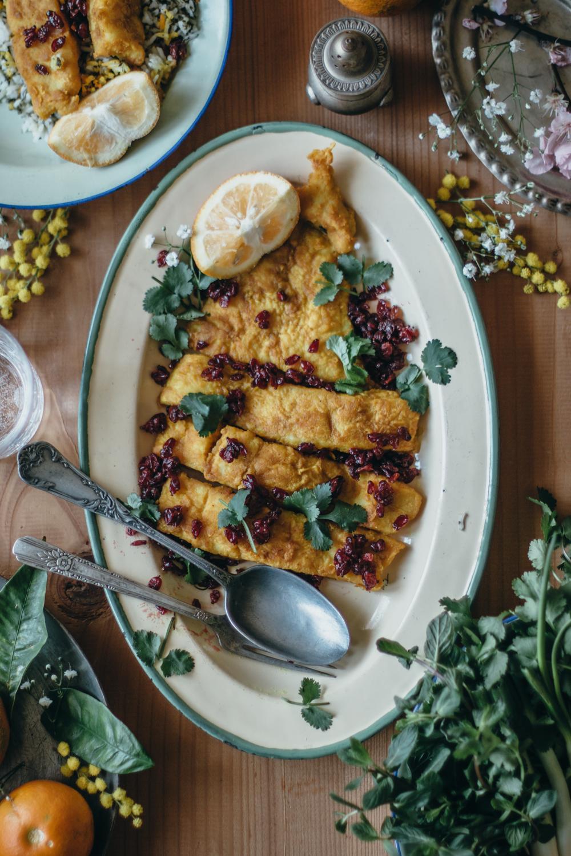 Persian Herby Pilaf and Fish - Sabzi Polo Mahi | Lab Noon by Saghar Setareh-13