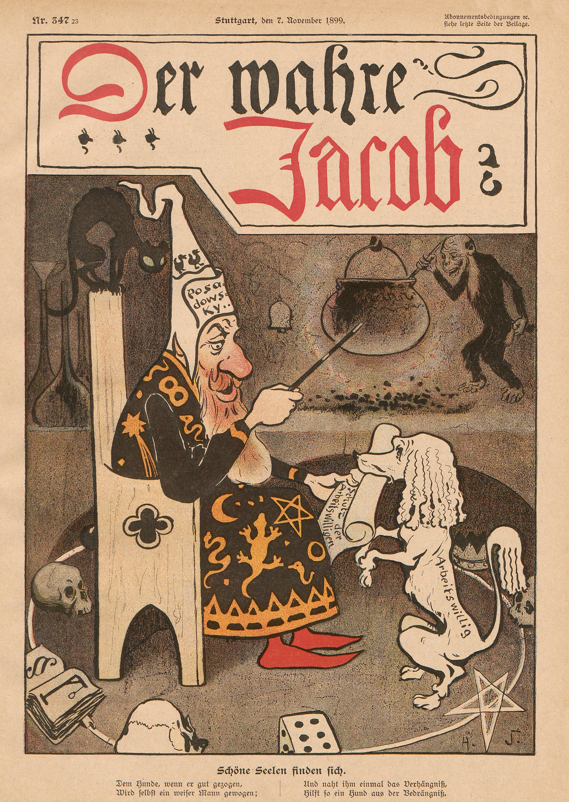 Hans Gabriel Jentzsch - Beautiful souls find themselves, 1899