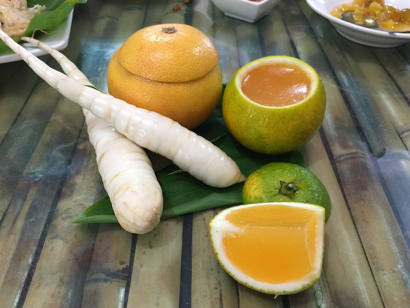 織羅部落開發的葛鬱金柑橘果凍,美味可口賣相討喜