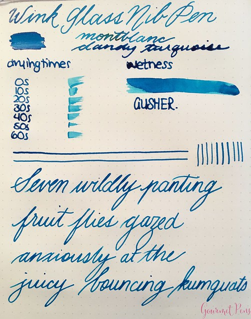 Review @WinkPens Glass Nib Pen from @Massdrop 14