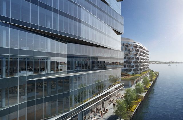 Pier-4-Phases-Two-Three-Office-Residential-Restaurant-Retail-Development-South-Boston-Waterfront-Seaport-District-Tishman-Speyer-Turner-Construction