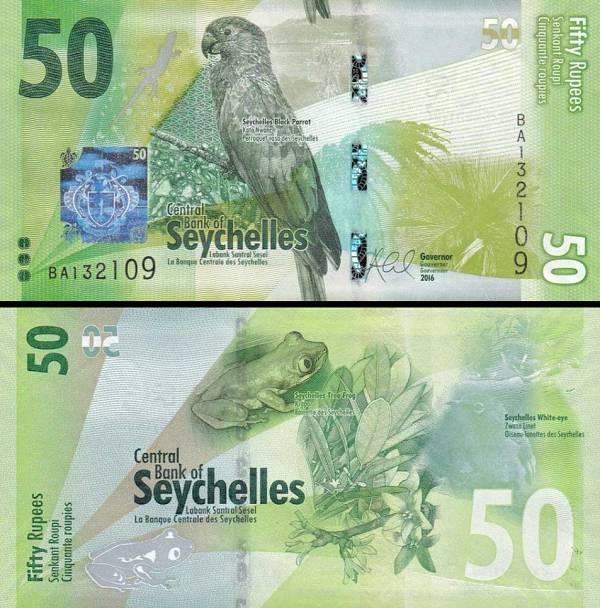 50 Rupií Seychely 2016, P49