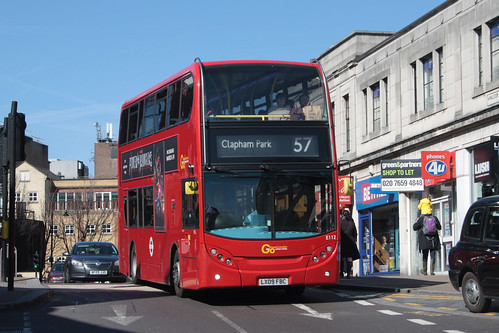 Go-Ahead London E112 LX09FBC