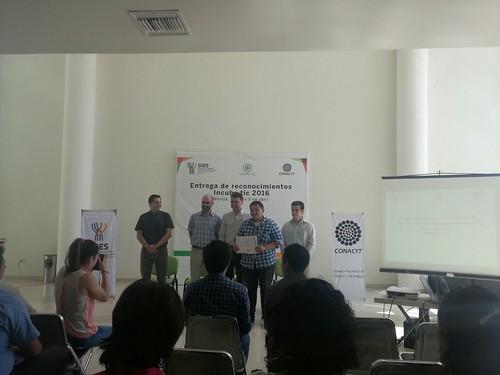 Entrega de reconocimientos Incuba tic 2016