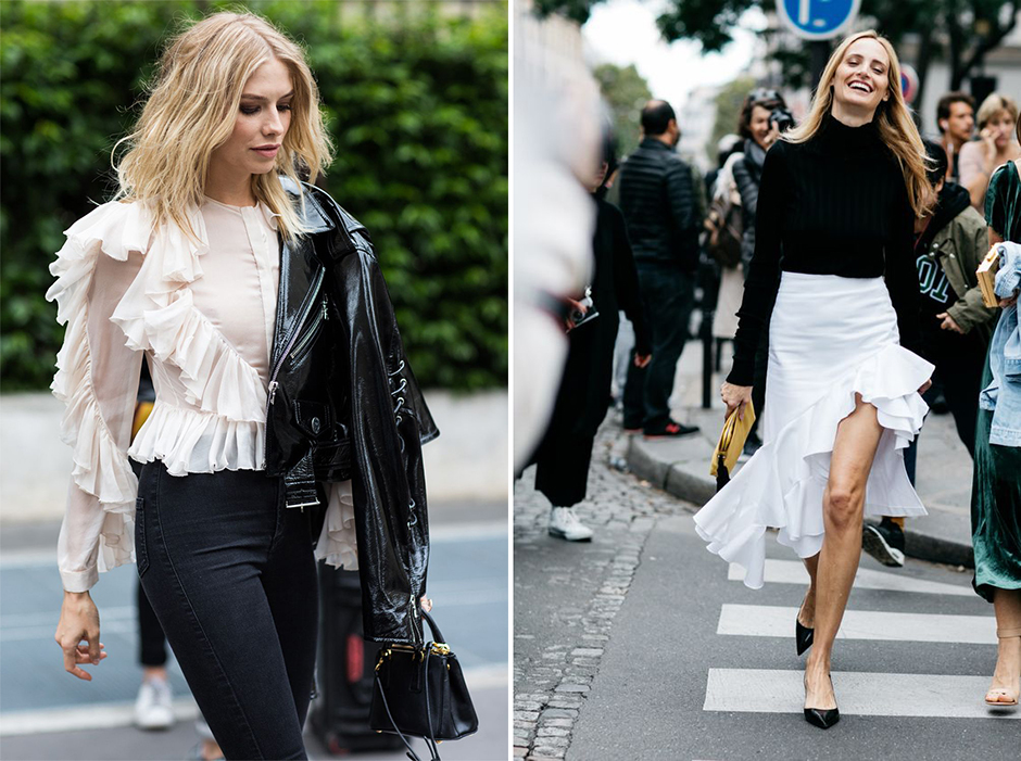 ruffled-skirt-outfit-street-style