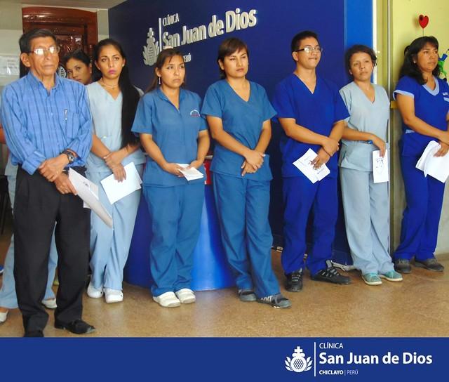 Semana Santa en Clínica San Juan de Dios - Chiclayo