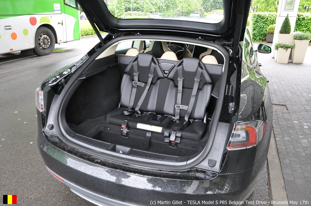 tesla model s p85 270kw 440nm rear facing seats for kids flickr. Black Bedroom Furniture Sets. Home Design Ideas