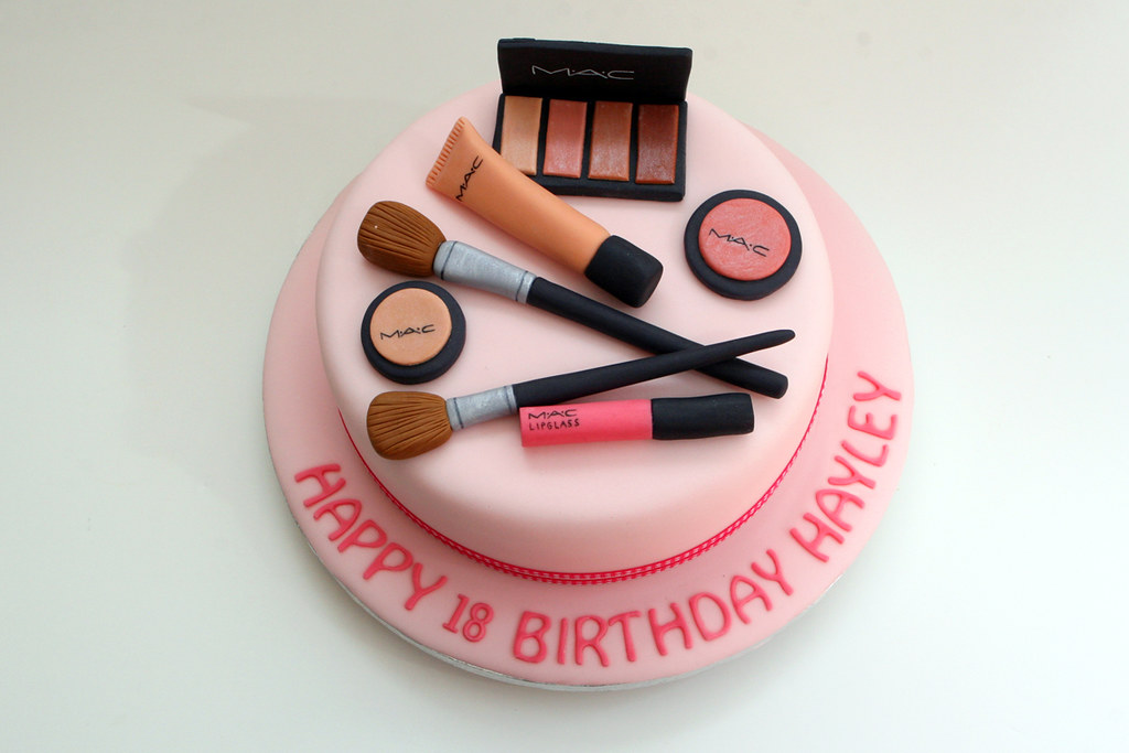 How To Make Makeup Cake Toppers