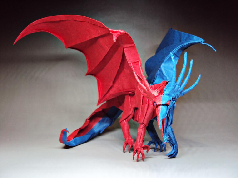 Double Colorancient Dragon Designed By Kamiya Satoshi Flickr