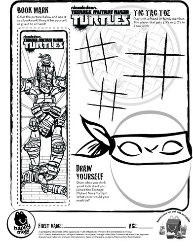 tmnt skating coloring pages - photo#19