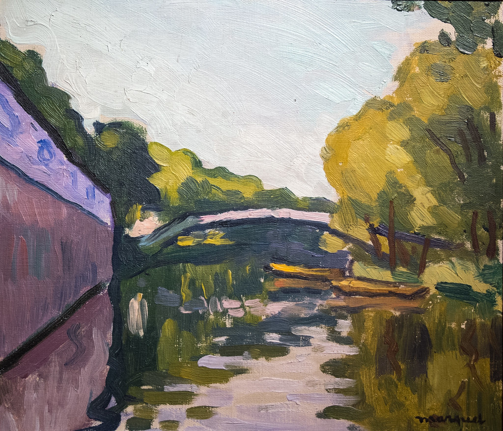 "Albert Marquet (Bordeaux, 1875 - Paris, 1947) ""Canal des e… 