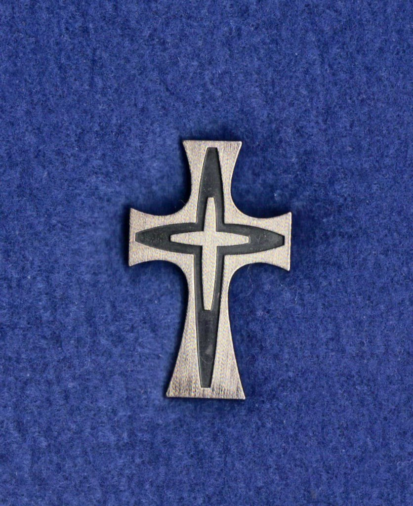 Sisters Of Mercy Cross Pin The Mercy Cross Pin Replaced Th Flickr