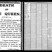 22nd January 1901 - Death of Queen Victoria