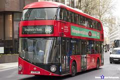 Wrightbus NRM NBFL - LTZ 1144 - LT144 - Shepherd's Bush 148 - RATP London - London 2017 - Steven Gray - IMG_8241