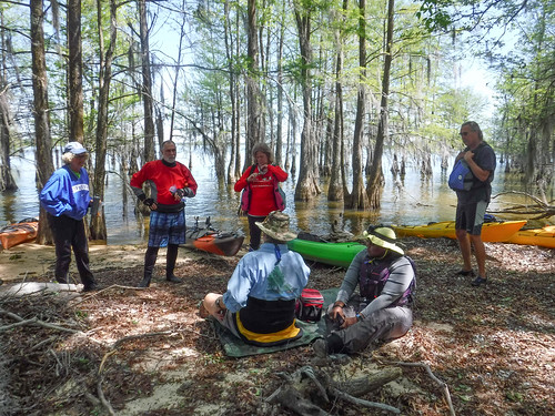 Paddle to Church Island with the Tri-County Blueways Paddlers-023
