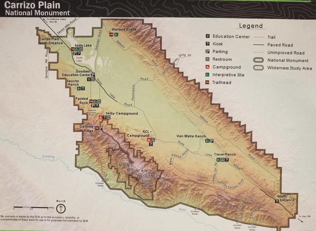 Map of Carrizo Plain, San Luis Obispo County, California, …   Flickr