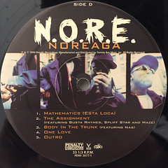 NOREGA:N.O.R.E.(LABEL SIDE-D)