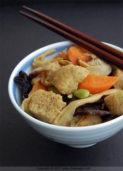 Braised Kao Fu | Chow Vegan