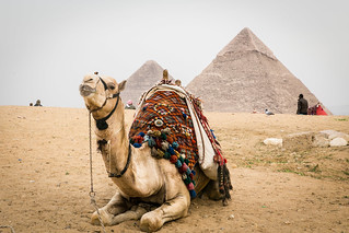 A break at the pyramids | by undeklinable