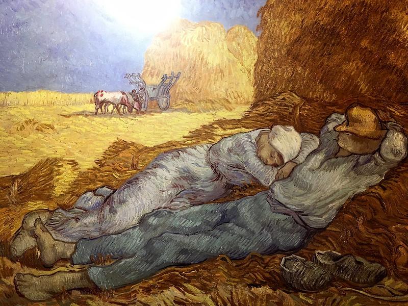 「印象.左岸–奧塞美術館30周年大展」 - 梵谷《午睡》