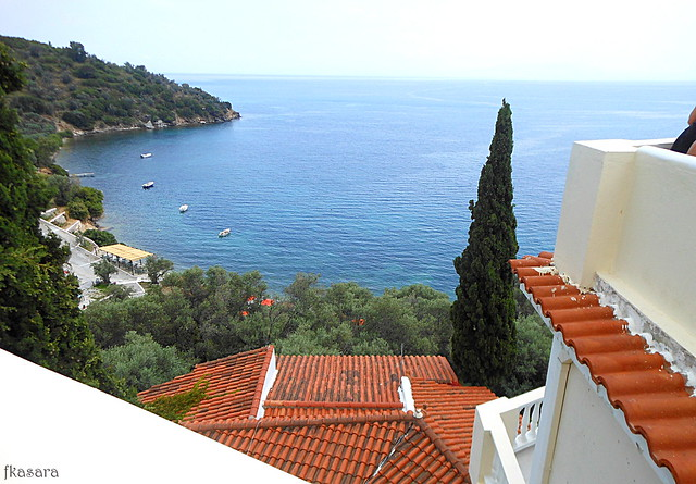 View. Kerveli, Samos.