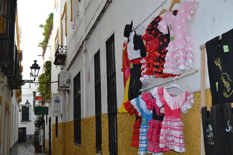 Barrio de Santa cruz, tipismo andaluz.