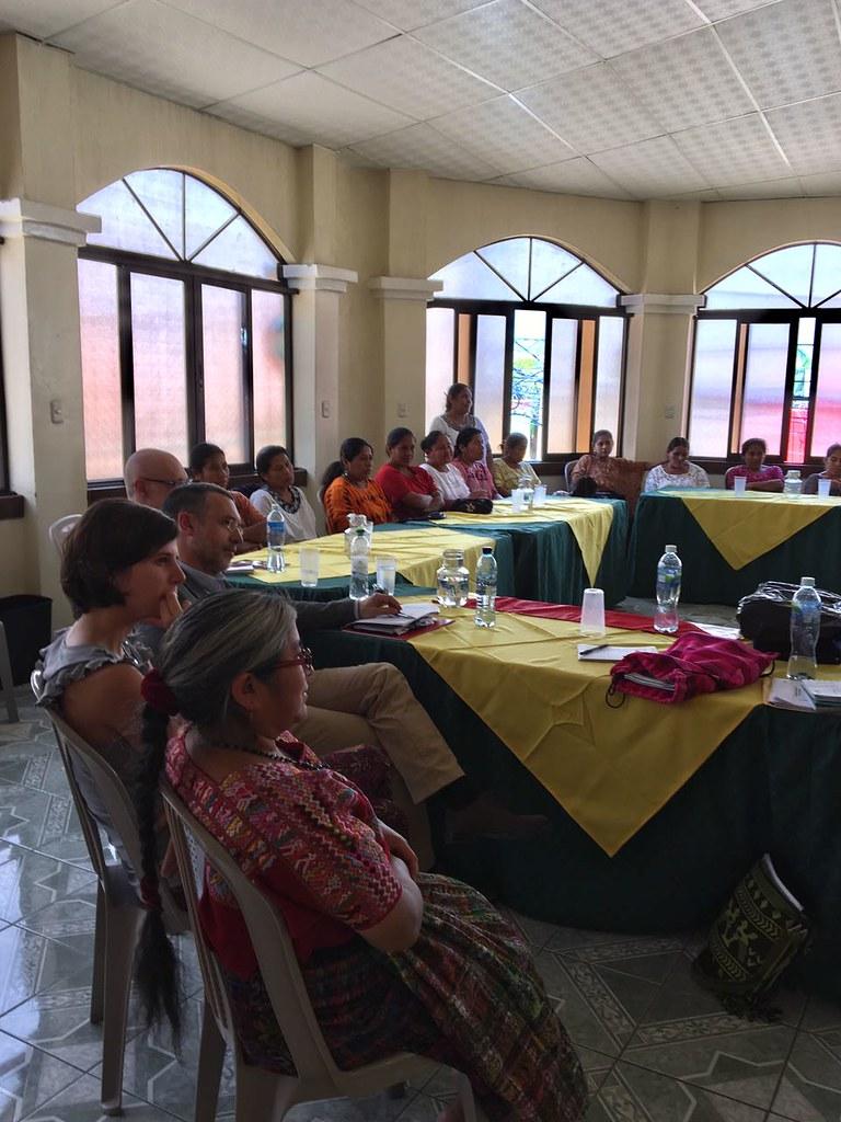 2017. Marzo. Visita de Delegación de Gobierno de Navarra y CONGD a Proyecto de Mundubat en Guatemala