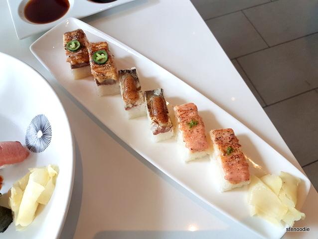Aburi Oshi Plate