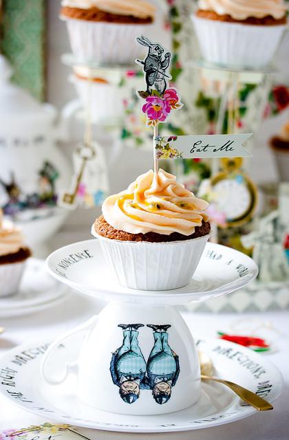Maracuja Cupcakes/Passion Fruit Cupcakes