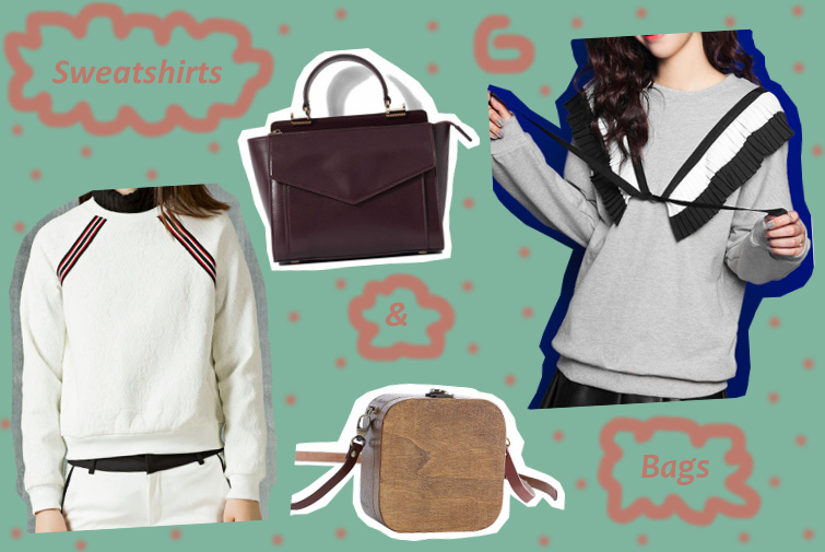 Sweatshirts & bags