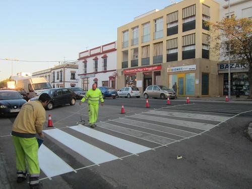 AionSur 33735146322_539a1777f0_d Carmona comienza un plan para mejorar 58 pasos de peatones Carmona Provincia pasos peatones