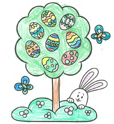 easter coloring page_Will