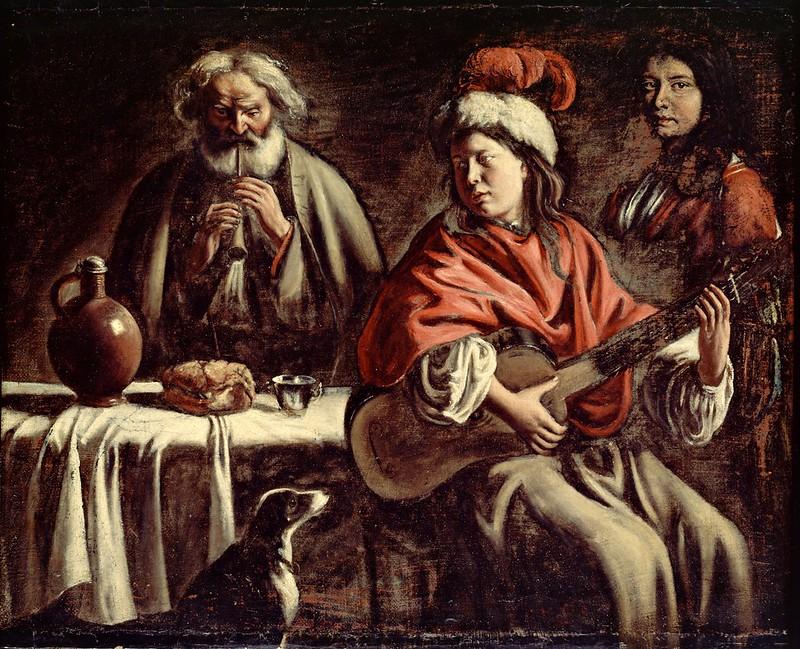 Mathieu Le Nain - Musicians (c.1677)